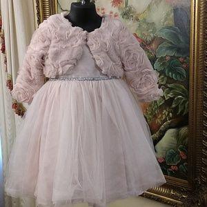 Pippa & Julie Girls Princess Tulle Dress Size 4